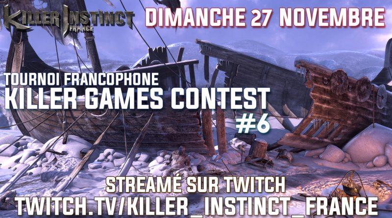 Killer Games Contest #06 – Inscriptions
